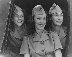 Army Nurses at Air Base in Caribbean