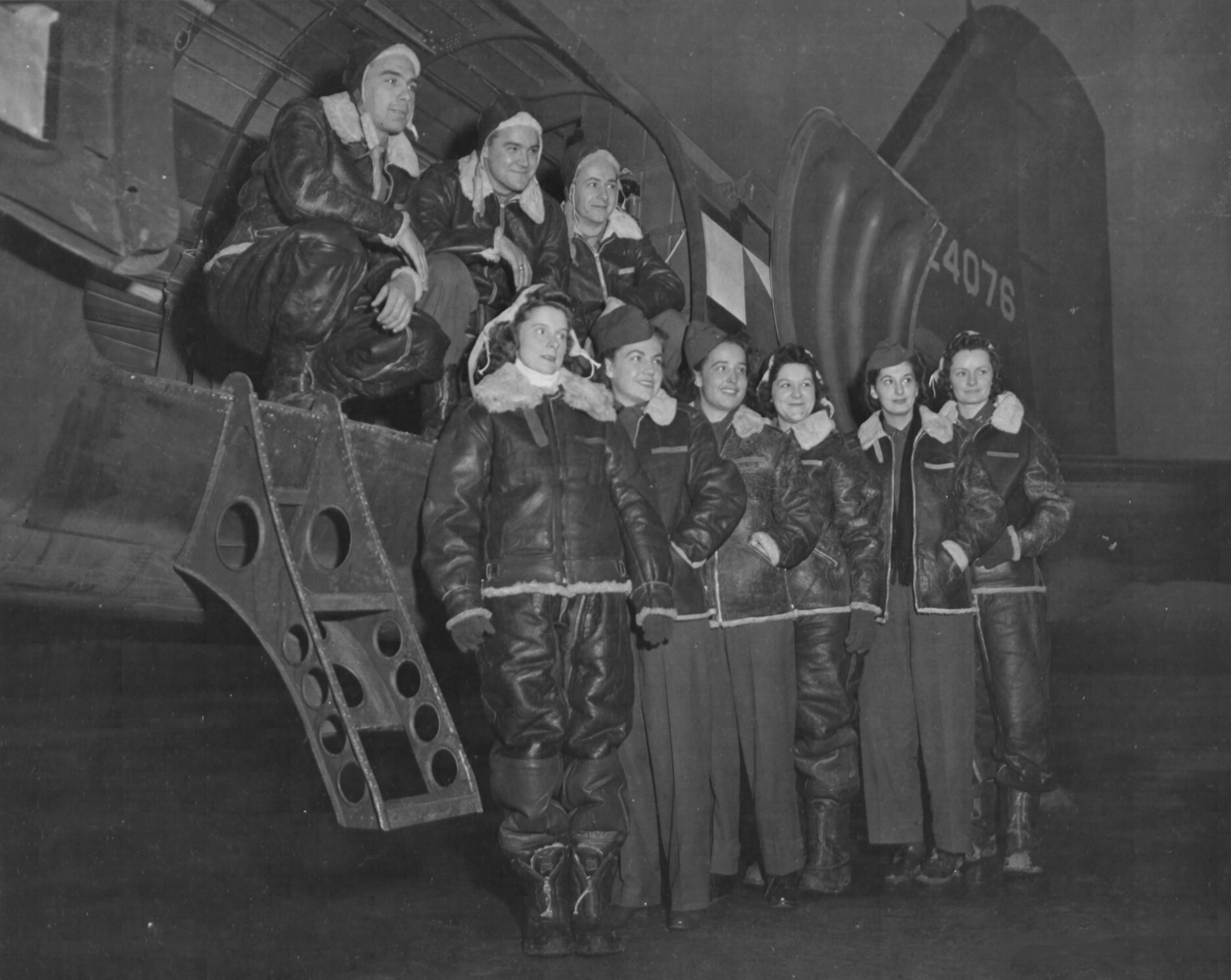 USAAF Air Evacuation Hospital Unit Personnel