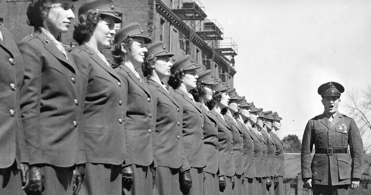 women marines of world war ii  u2013 women of world war ii