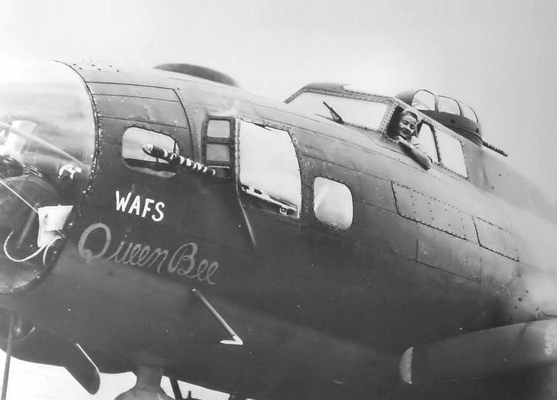 Nancy Love Checks Out Her B-17
