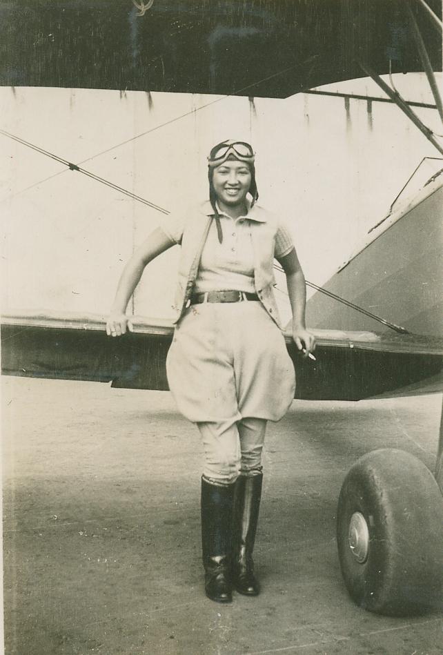 Hazel Ying Lee in 1932