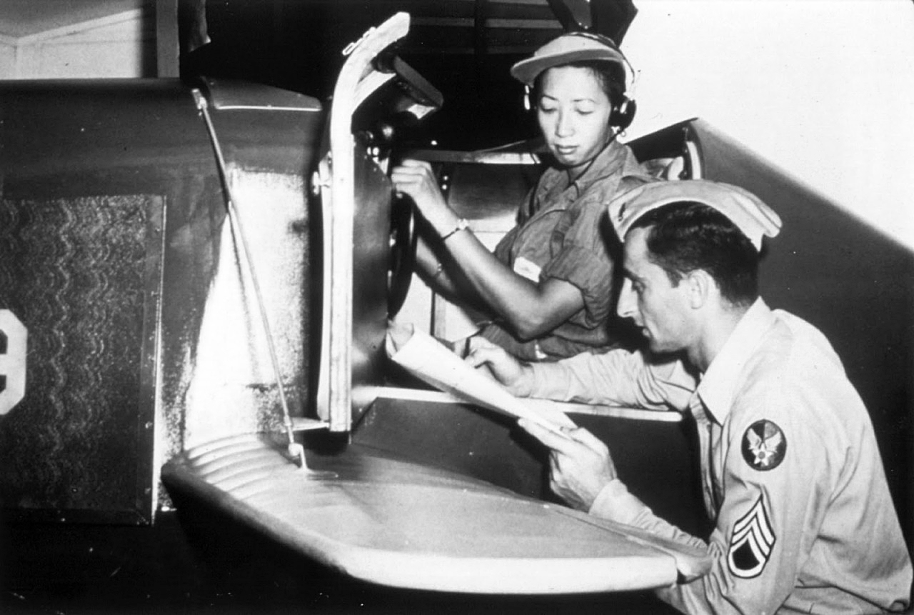WASP Hazel Ying Lee in Link Trainer