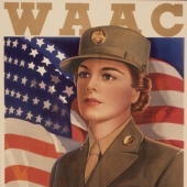 This is My War Too WAAC WWII Recruiting Poster