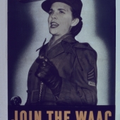 Join the WAAC WWII Recruiting Poster