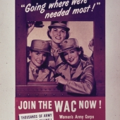 Going Where We're Needed Most WAC Recruiting Poster