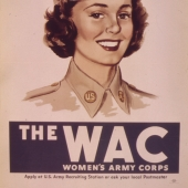 Good Soldier WWII WAC Recruiting Poster