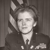 Mary Agnes Hallaren, WAC Officer