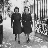 WAC Telephone Operators Leaving Little White House