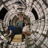 Women Working on B-17F Bomber at Douglas Aircraft Company