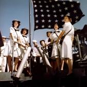 WAVES Visiting the USS Missouri