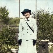 Frances Rais of the WAVES