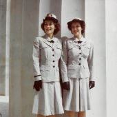 WAVES Model Gray Summer Working Uniforms