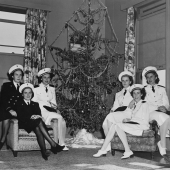 Pearl Harbor Navy Nurses Celebrate Christmas