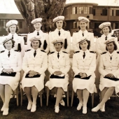 Pearl Harbor Navy Nurses Group Portrait