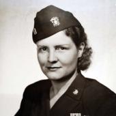 Former POW Navy Nurse Mary R. Nelson