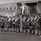 Freed U.S. Navy Nurses Homeward Bound