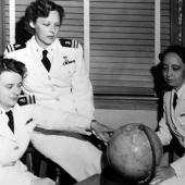 Recently Freed POW Nurses in Long Beach, California