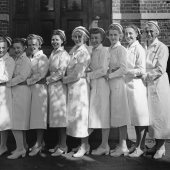 Navy Nurses of Naval Hospital in Bremerton, Washington