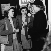 Twin Sisters Talk With a WAVE at Hunter College