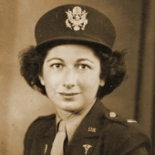 Sarah Brody of Army Nurse Corps
