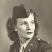 Portrait of Army Nurse Ida Fieldman