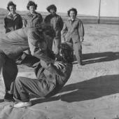 Women Marines Practice Self Defense