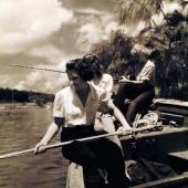 Navy Nurses Fishing in Key West, Florida