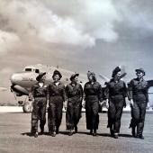 Navy Flight Nurses of the Air Evacuation Squadron