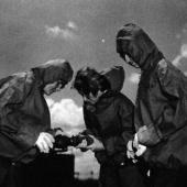 Navy Nurses at Firefighting School