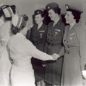Lieutenant Commander Laura Cobb with Other Nurses