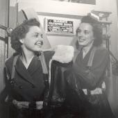 Two Navy Flight Nurses in Training