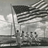 Navy Nurses Aboard the USS Solace