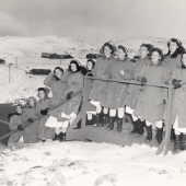 Navy Nurse Corps at Adak, Alaska