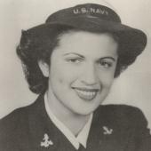 Sylvia Greenbaum Novarr of the WAVES