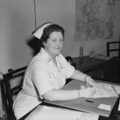 Chief Army Nurse at Camp Atterbury, Indiana
