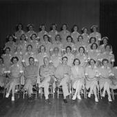 "American Red Cross ""Gray Ladies"" Graduating Class"