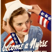 Become a Nurse: Your Country Needs You WWII Poster