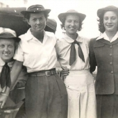 Enlisted SPARS in Uniform during WWII