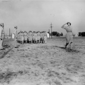 WACs Passing in Review at Camp Atterbury