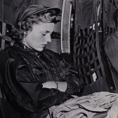 Navy Flight Nurse Catches a Few Winks