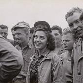 First Navy Flight Nurse on Iwo Jima