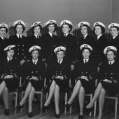 Navy Nurses at Camp Parks in Shoemaker, California