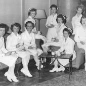 Navy Nurses at Brooklyn Naval Convalescent Hospital