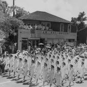 Pearl Harbor Nurses Marching in V-J Day Parade