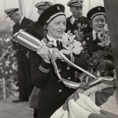 Navy Nurses Christen Hospital Ship USS Mercy