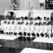 Navy Nurses Aboard the Hospital Ship USS Refuge