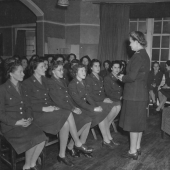Colonel Oveta Culp Hobby Addresses WACs
