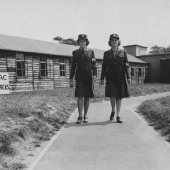 WACs Leave Barracks for MP Duty