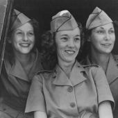 Army Nurses at Air Base in Caribbean