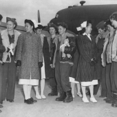 Flying Nurses Arrive in China